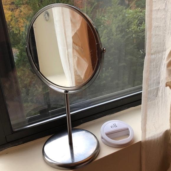 Makeup Mirror and Mini LED Light